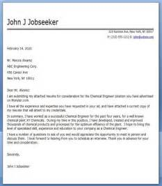 Chemical Engineering Cover Letter by Chemical Engineering Cover Letter Career