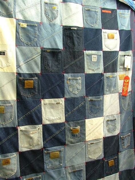 pattern for jeans pocket quilt from jeans pockets quilts quilts quilts pinterest