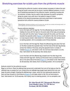 Sciatic nerve stretches stretching exercises for sciatic pain from