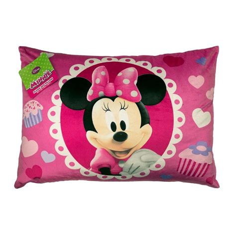 disney minnie mouse bed pillow