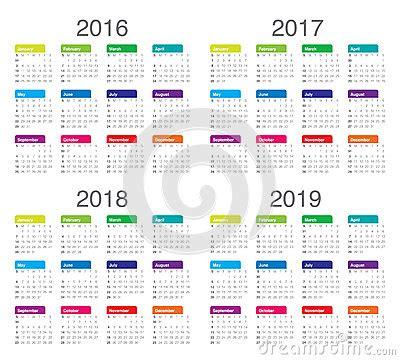 Calendã Vacinaã ã O Infantil 2017 Calendar 2016 2017 2018 2019 Stock Vector Image 61091010