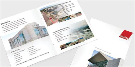 leaflet layout sle high end branding development gidesign redding california