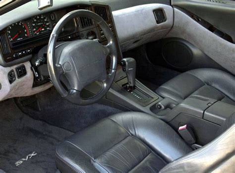 1992 subaru svx interior weekend edition a 1992 tastefully modified subaru svx