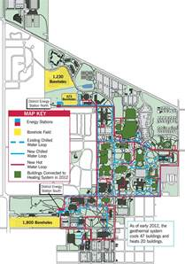 Ball State Campus Map by Faq Geothermal Energy System Ball State University
