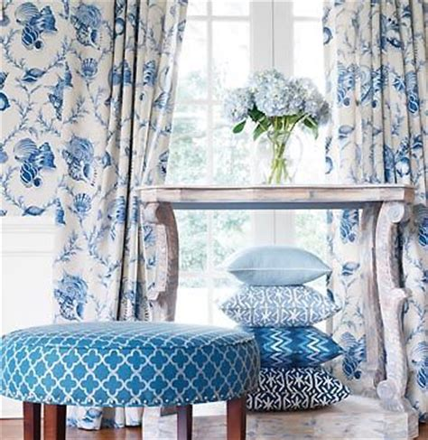 matching wallpaper and curtains fabrics pin by susan cerday on blue and white pinterest