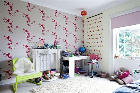 Wallpaper Kids Bedrooms Star Bedroom Wallpaper Girls Bedroom Ideas Amp Kids