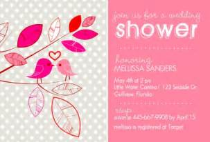 bridal shower invitations free print out bridal shower