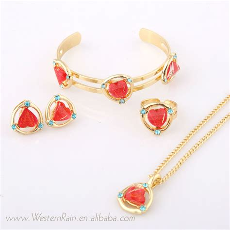 jewelry for children westernrain 2016 gold wholesale fashion kid jewelry