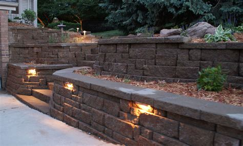 landscape wall lights wall lights design outdoor retaining landscape wall