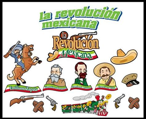 imagenes de la revolucion mexicana con nombres revolucion mexicana decoracion escolar pinterest