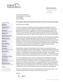 Release Letter Mandatory United Policyholders Weighs In On Mandatory Arbitration Shenanigans At Department Of