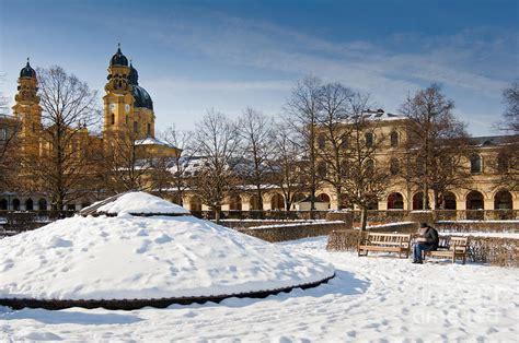 Englischer Garten Munich Winter by Munich Winter Photograph By Andrew Michael