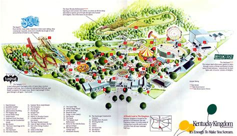 kentucky kingdom map theme amusement parks of the usa stay up to date with us