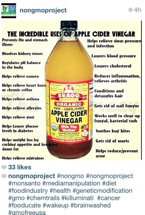 Benefits Of Braggs Apple Cider Vinegar Detox by The World S Catalog Of Ideas