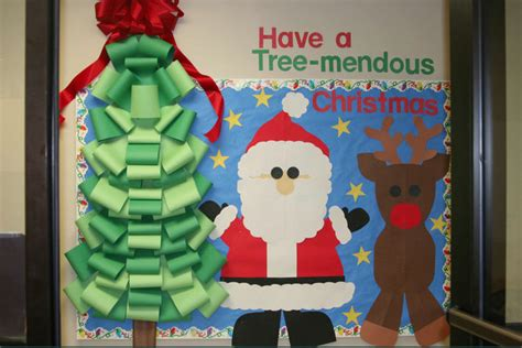 bulletin board ideas for kindergarten christmas