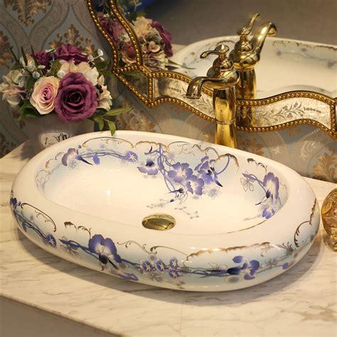 Handmade China - china artistic handmade porcelain wash basin