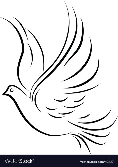 stock images royalty free images vectors dove royalty free vector image vectorstock