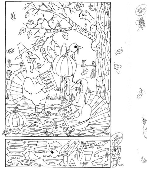 printable holiday hidden pictures hidden pictures publishing coloring page and hidden