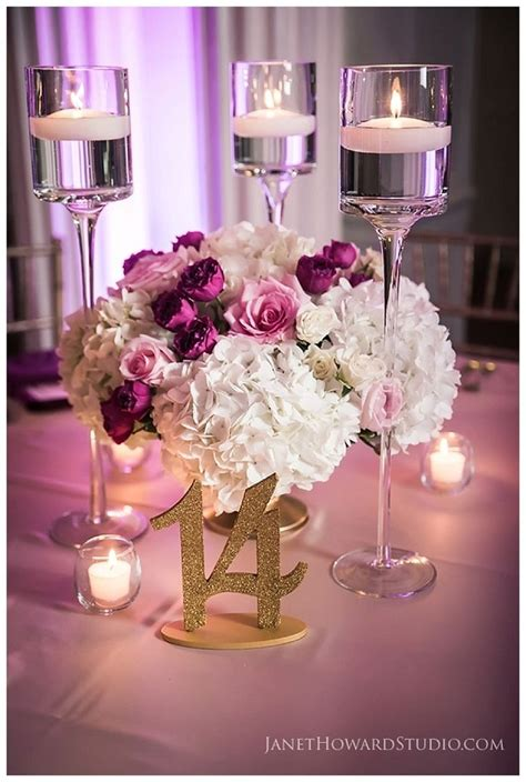 1000 ideas about low wedding centerpieces on