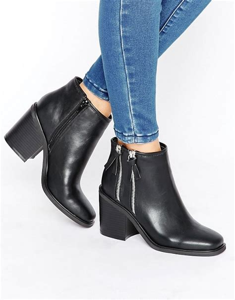 Side Pocket Boots From Asos by Rebel Rebel Boots With Side Zip
