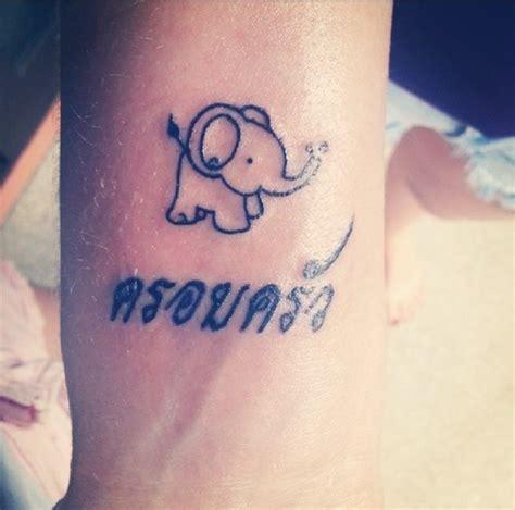 elephant tattoo with names 30 adorable tiny elephant tattoo
