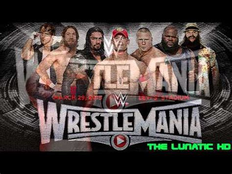 theme song wrestlemania 31 wrestlemania 31 official theme song quot rise quot by david