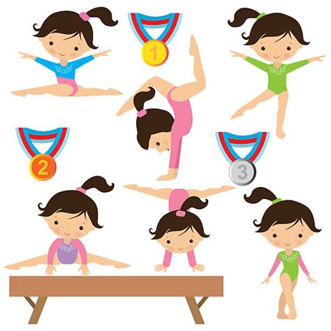 gymnastics clipart royalty free gymnastics clip vector images