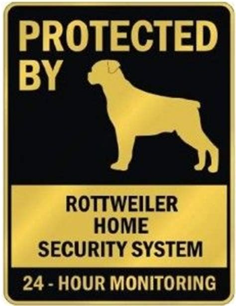 rottweiler signs protected by rottweiler sign stuff with animals signs and rottweilers
