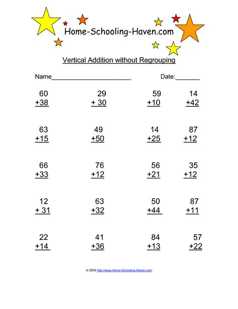 column addition worksheets tes teaching