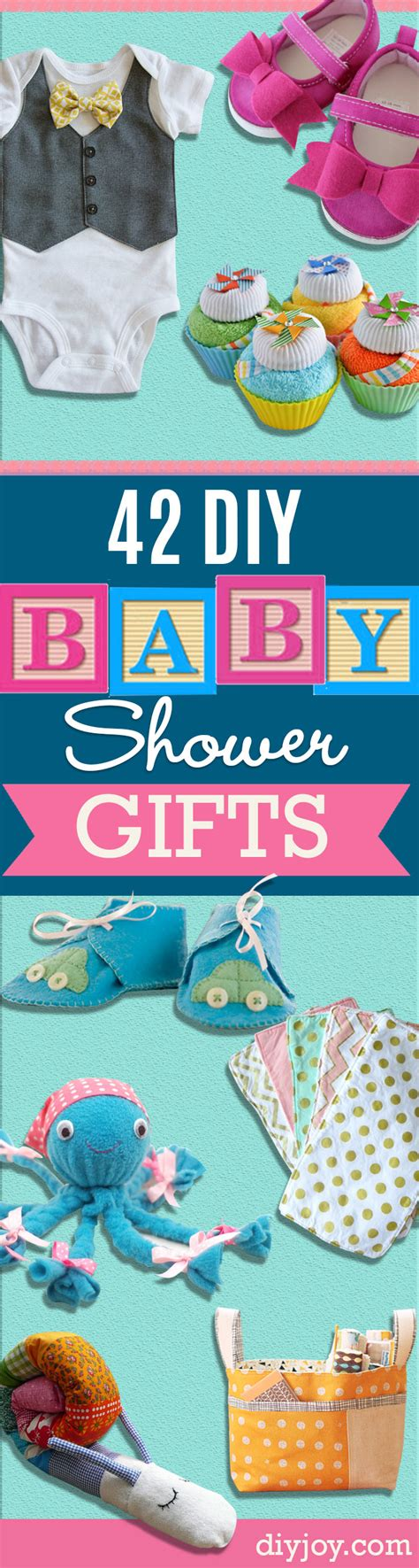 Unique Baby Shower Presents by 42 Fabulous Diy Baby Shower Gifts