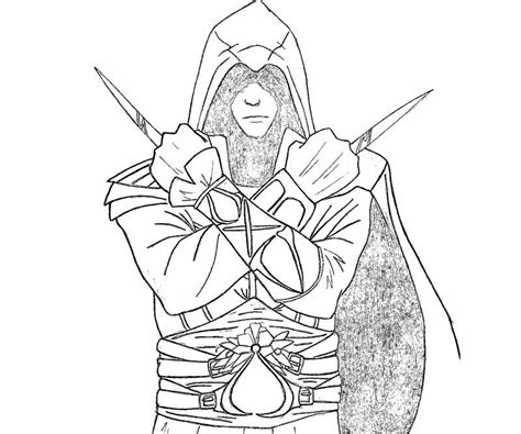 assassins creed colouring book assassins creed free coloring pages