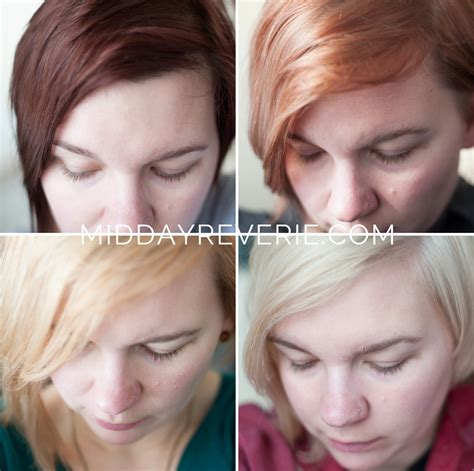 how to platinum hair at home midday reverie