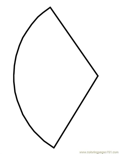 template to make a cone cone shape template