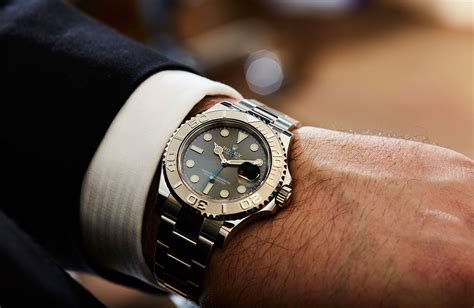 yacht master rhodium hands on shades of grey the rolex yacht master 40 with