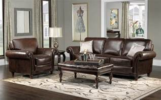 Living Room Brown Leather Sofa Color Schemes For Living Rooms With Brown Leather Furniture And Hardwood Floors Enchanting