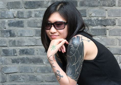 tattoo girl new show tattoo show convention china 2007