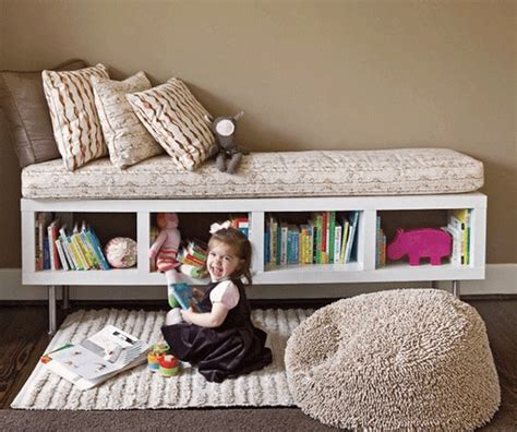 ikea hack storage bench diy using ikea shelf unit as storage bench better homes