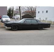 Gangster Styled Car  Murdered Out 1970 Lincoln
