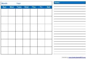 Calendar Template 2014 Printable by 16 Blank Month Calendar Template Images Blank Monthly
