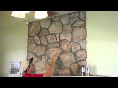 Faux Painting Wood Grain - how to mud on a faux stone and wood grain look randy miller youtube