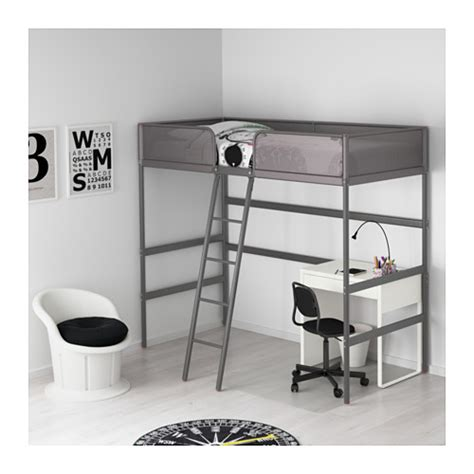 Pin Jual Bed Ranjang tuffing loft bed frame 90x200 cm ikea