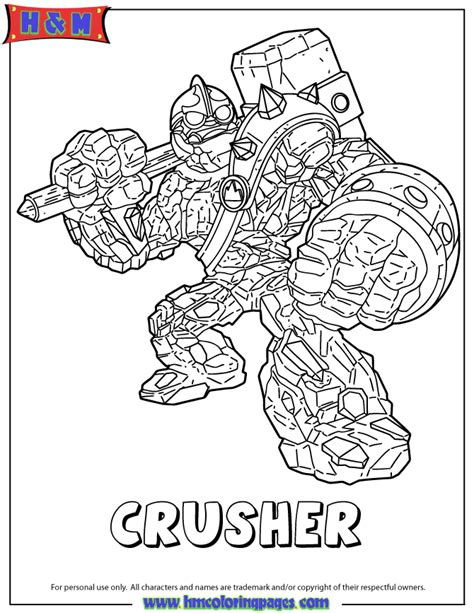 Skylanders Giants Coloring Pages free coloring pages of boom skylander