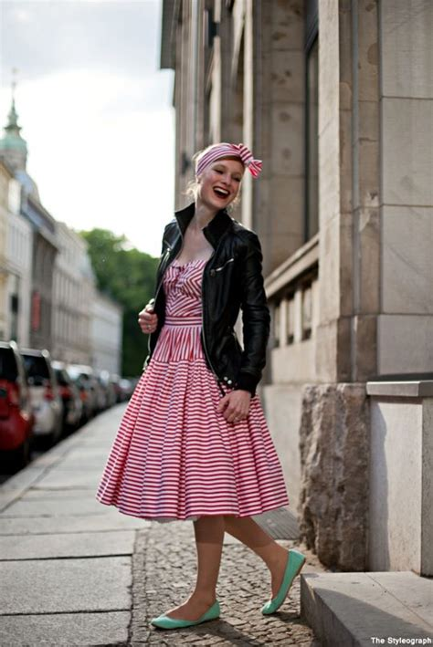 50s swing fashion 50 s retro meets rocker chic to wear warm