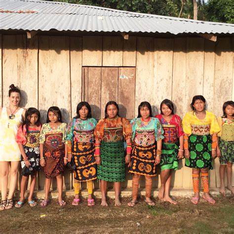 imagenes de mujeres kunas la riqueza cultural de las mujeres kuna fashion revolution