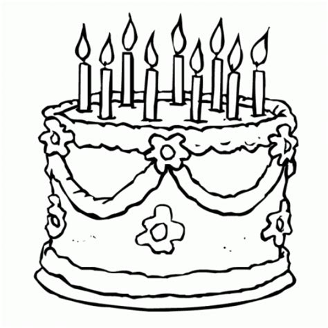 coloring pages birthday cake candles free coloring pages of candle drawing