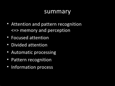 pattern recognition and machine learning conferences attention and pattern recognition 1