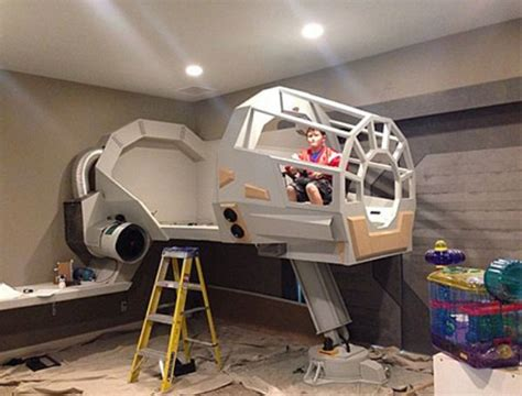 star wars bunk bed photos of star wars furniture diy parents on thechive com