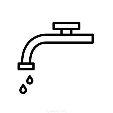 disegno rubinetto rubinetto lavandino disegni da colorare ultra