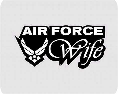 Auto Glass Decals by Air Force Wife Auto Glass Decal