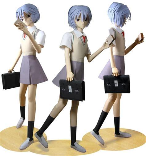 Papercraft Figures - anime papercraft figures